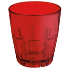 GET 9955-1-R 5.5 oz. Red Break-Resistant Plastic Bahama Tumbler - 72 / Case