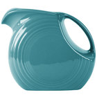 Homer Laughlin 484107 Fiesta Turquoise 2.1 Qt. Large Disc Pitcher - 2 / Case