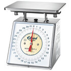Edlund DCF-2 Five Star Series Heavy-Duty 32 oz. Portion Scale with 7 inch x 8 3/4 inch Platform