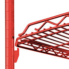 Metro Super Erecta Flame Red Drop Mat Shelving