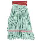 Continental A02801 J.W. Atomic Loop™ 16 oz. Small Green Blend Loop End Mop Head with 5 inch Band