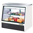 True TSID-48-2-L Low Height Refrigerated Deli Case - 17 Cu. Ft.
