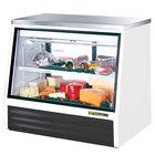 True TSID-48-2-L Low Height Refrigerated Deli Case - 17 Cu. Ft.