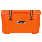 Orange 40 Qt. Extreme Outdoor Grizzly Merchandiser / Cooler