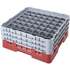 Cambro Full Size 49 Compartment Glass Racks, 10 1/8