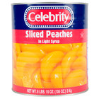 #10 Can Sliced Peaches in Light Syrup - 6/Case