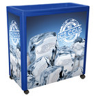 Blue Avalanche 300 Mobile 112 Qt. Cooler Merchandiser