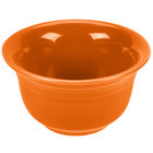 Homer Laughlin 450325 Fiesta Tangerine 6.75 oz. Bouillon - 12 / Case