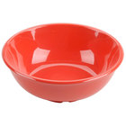 Orange 32 oz. Melamine Salad Bowl - 12 / Pack