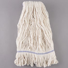 Continental A02513 J.W. Atomic Loop™ 32 oz. Blend Loop End Natural Mop Head with 1 1/4 inch Band