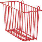 Metro H210-DF Flame Red Storage Basket for Wire Shelving 17 3/8 inch x 7 1/2 inch x 5 inch