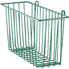 Metro H209-DHG Hunter Green Storage Basket for Wire Shelving 13 3/8 inch x 5 inch x 7 inch