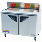 Turbo Air TST-48SD 48 inch Super Deluxe Refrigerated Sandwich / Salad Prep Table