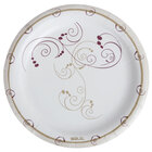 Dart Solo MP9-J8001 8 1/2 inch Medium Weight Paper Plate with Design - 500 / Case