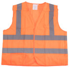Orange Class 2 High Visibility 5 Point Breakaway Safety Vest - Medium