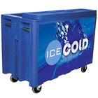 Blue Arctic 720 Mobile 288 qt. Cooler with Casters