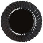 Fineline Flairware 209-BK Black 9 inch Plastic Plate 180 / Case