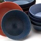 HS Inc. HS1012 8 inch x 2 1/4 inch Blueberry Polyethylene Round Basket - 24/Case