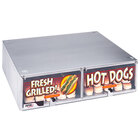 APW Wyott Hot Dog Roller Grill Bun Boxes and Bun Warmers