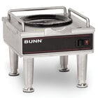 Bunn RWS1 Coffee Server Warmer with Satin Nickel Legs 120V (Bunn 12203.0014)