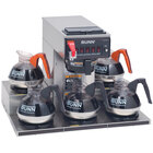Bunn CRTF5-35 13250.0023 12 Cup Automatic Coffee Brewer with 5 Warmers & Hot Water Faucet 120/208-240V (Bunn 13250.0023)
