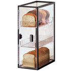 Cal-Mil 1720-3 Iron Three Tier Bread Case - 7 inch x 12 1/4 inch x 19 1/2 inch
