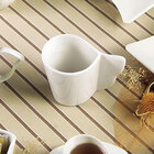 CAC SOH-1 Soho American White 7.5 oz. Stoneware Coffee Cup - 36 / Case