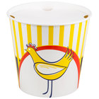 Choice 10 lb. Chicken Bucket with Lid - 20 / Pack