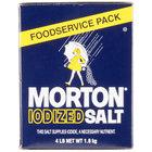 Morton 4 lb. Bulk Iodized Table Salt