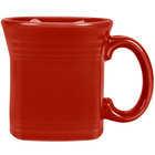 Homer Laughlin 923326 Fiesta Scarlet 13 oz. Square Mug - 12/Case