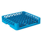 Carlisle ROP14 Opticlean 19 3/4 inch x 19 3/4 inch x 4 inch Open End Peg Tray Dish Rack