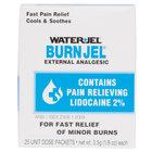 Medique 66622 Medi-First 3.5 g Burn Jel Packet - 25/Box