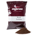 Ellis Mezzaroma Royal Sumatra Ground Coffee - (24) 2.5 oz. Packets / Case