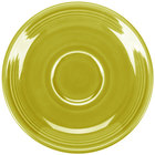 Homer Laughlin 470332 Fiesta Lemongrass 5 7/8 inch Saucer - 12 / Case