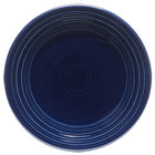 Homer Laughlin 465105 Fiesta Cobalt Blue 9 inch Luncheon Plate - 12 / Case