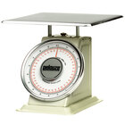 Rubbermaid Pelouze 10B200 200 lb. / 90 kg. Mechanical Receiving Scale - Dual Read (FG10B200)