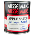 Musselman's Apple Sauce No Sugar Added 6 #10 Cans / Case