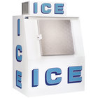 Polar Temp 380CW Cold Wall Outdoor Ice Merchandiser - 38 cu. ft.