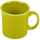 Homer Laughlin 570332 Fiesta Lemongrass 12 oz. Java Mug - 12 / Case