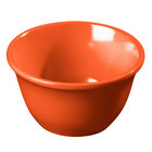 Carlisle 4305052 Durus 7 oz. Sunset Orange Melamine Bouillon Cup 48 / Case