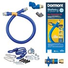 36 inch Dormont 1675KITCFS SafetyQuik Gas Appliance Connector Kit with SwivelMAX Connector - 3/4 inch Diameter