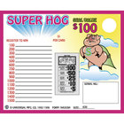 Super Hog 1 Window Pull Tab Tickets - 630 Tickets Per Deal - Total Payout: $500