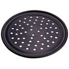 Wide Rim Perforated Pizza Pans