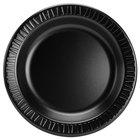 Dart Solo 10PBQR Quiet Classic 10 1/4 inch Black Laminated Round Foam Plate - 500/Case