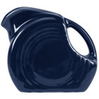 Homer Laughlin 475105 Fiesta Cobalt Blue 4.75 oz. Mini Disc Creamer Pitcher - 4/Case