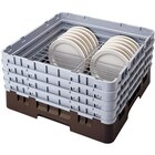 Cambro CRP12911167 Brown Full Size PlateSafe Camrack 9-11 1/8 inch
