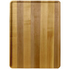 Cambro 1216D303 12 inch x 16 inch Light Butcher Block Wood-Look Dietary Tray - 12/Case