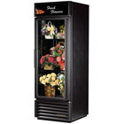 True GDM-23FC-HC-LD Black Glass Door Floral Case