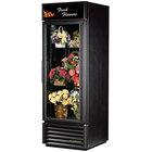 True GDM-23FC-HC-LD Black Glass Door Floral Case