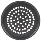 American Metalcraft HC2008SP 8 inch Super Perforated Tapered/Nesting Pizza Pan - Hard Coat Anodized Aluminum